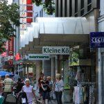 Fußgängerzone; Einkaufszentrum; shoppen in Jülich