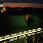 Aufnahme der Zitadelle Jülich beleuchtet - Dieter Benner - Fotodrohne