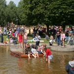 Wasserspielplatz im Brückenkopfpark Jülich