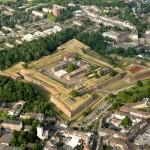 Luftaufnahme von Jülich, Zitadelle und Innenstadt