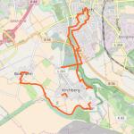 Wanderweg Braunkohlewerk Kirchberg