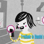 Comic zum Freifunk in Handel und Gewerbe Jülich