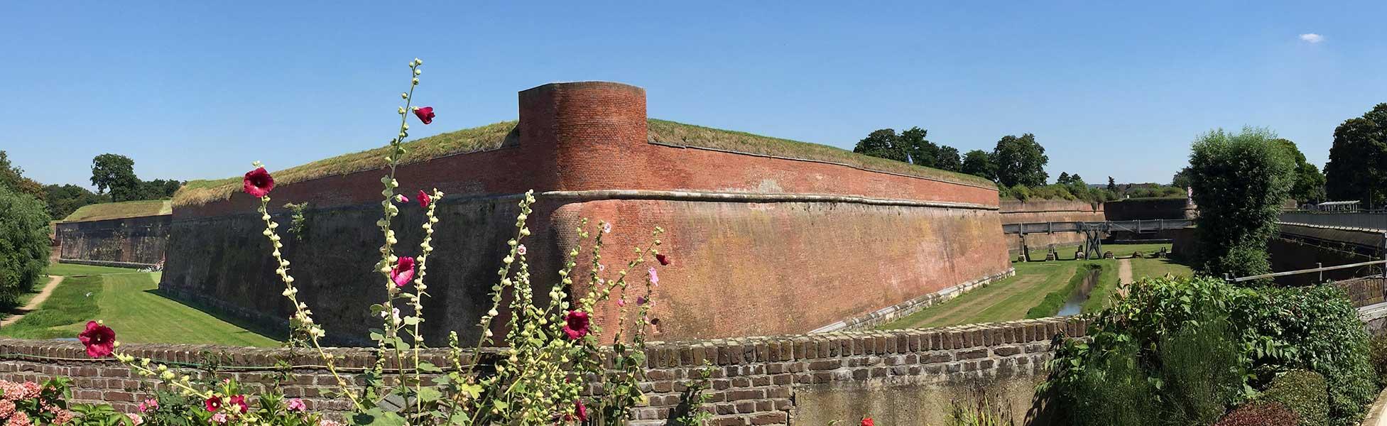 Zitadelle Jülich, Blick auf die Bastion Johannes